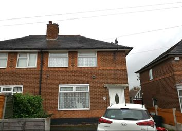 Thumbnail 2 bed semi-detached house for sale in Webbcroft Road, Stechford, Birmingham