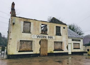 Thumbnail Commercial property for sale in The Wern Inn, Llangynog, Carmarthenshire