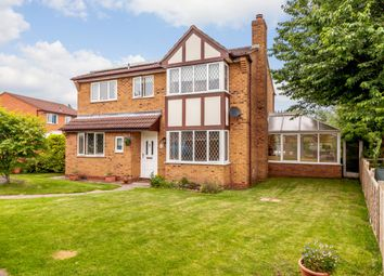 Thumbnail 4 bed detached house for sale in Sedgeford Drive, Shrewsbury, Shropshire
