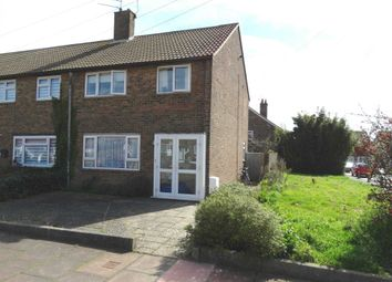 Thumbnail 3 bed terraced house for sale in Elsted Close, Eastbourne