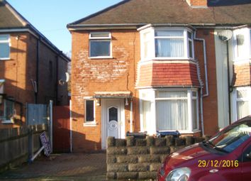 Thumbnail 3 bed semi-detached house for sale in Coombe Road, Perry Barr