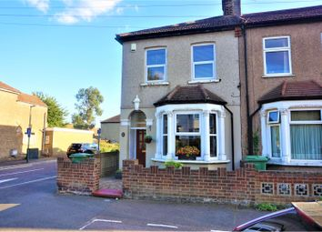 Thumbnail 3 bed end terrace house for sale in Slade Green Road, Erith