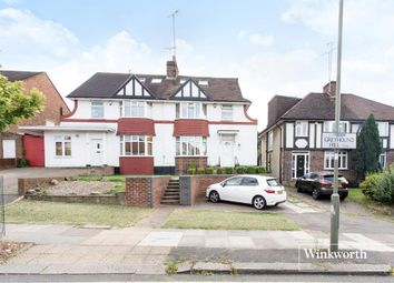 Thumbnail 4 bedroom semi-detached house for sale in Greyhound Hill, London
