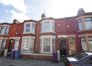 Thumbnail 3 bedroom terraced house to rent in Liscard Road, Wavertree