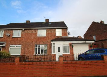 Thumbnail 3 bedroom semi-detached house for sale in Wycliffe Avenue, Newcastle Upon Tyne