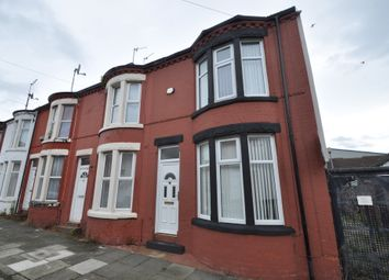 Thumbnail 2 bed end terrace house for sale in Harlech Street, Wallasey