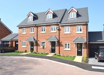 Thumbnail 3 bed town house for sale in Warbler Road, Farnborough