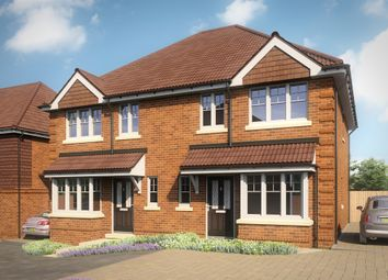 Thumbnail 3 bed semi-detached house for sale in Ashley Gardens, Oakley, Basingstoke