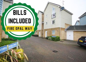 Thumbnail 2 bed flat to rent in Fire Opal Way, Sittingbourne