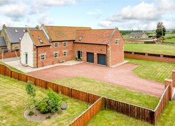 Thumbnail 4 bedroom barn conversion for sale in Tritlington, Morpeth, Northumberland