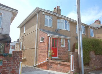 Thumbnail 3 bedroom semi-detached house for sale in Parker Road, Plymouth