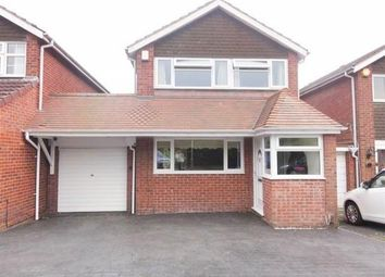 Thumbnail 3 bed detached house to rent in Tyrley Close, Compton, Wolverhampton