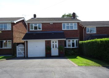 Thumbnail 4 bed detached house for sale in Romans Crescent, Coalville, Leicestershire