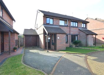 Thumbnail 3 bedroom semi-detached house for sale in Campine Close, Cheshunt, Cheshunt, Hertfordshire