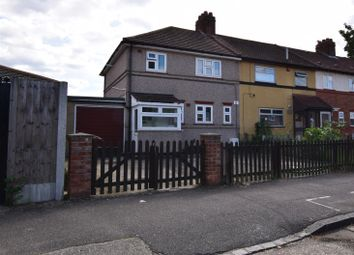 Thumbnail 3 bed end terrace house for sale in East Park Close, Chadwell Heath, Romford