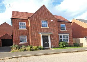 Thumbnail 4 bedroom detached house for sale in Kenbrook Road, Hucknall, Nottingham