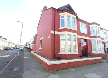 Thumbnail 4 bedroom end terrace house for sale in Corinthian Avenue, Stonycroft, Liverpool