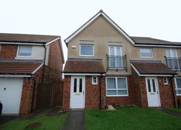Thumbnail 3 bedroom property for sale in Coneygarth Place, Ashington