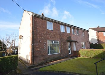 Thumbnail 3 bed semi-detached house for sale in Melbourne Avenue, Clydebank