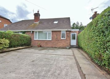 Thumbnail 3 bed semi-detached bungalow for sale in Southridge Road, Pensby, Wirral