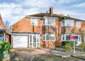 Thumbnail 3 bed semi-detached house for sale in Hobart Drive, Walsall