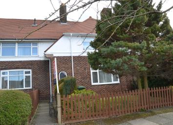 Thumbnail 3 bed terraced house for sale in Eastern Avenue, Bromborough, Wirral