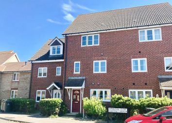 Thumbnail 3 bed town house for sale in Percival Close, Lee-On-The-Solent
