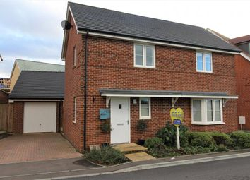 Thumbnail 3 bedroom detached house for sale in Church Crookham, Fleet