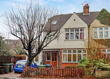 Thumbnail 5 bed semi-detached house for sale in Elgar Avenue, Surbiton, Surrey