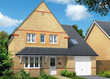 "Thumbnail 4 bed detached house for sale in ""Harrogate"" at Tregwilym Road, Rogerstone, Newport"