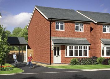 Thumbnail 3 bed detached house for sale in Plot 18, Meadowdale, Barley Meadows, Llanymynech, Shropshire