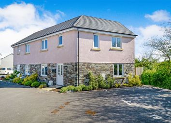 Thumbnail 4 bed semi-detached house for sale in Wilson Close, Newquay