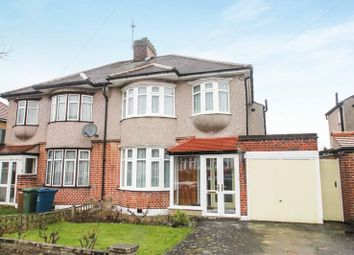 Thumbnail 3 bed semi-detached house for sale in Chester Drive, North Harrow, Harrow