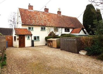 Thumbnail 3 bedroom end terrace house for sale in Glemsford, Sudbury, Suffolk
