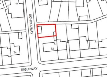 Thumbnail Land for sale in School Way, Finchley, London