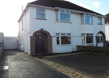 Thumbnail 3 bed semi-detached house to rent in Severn Road, Porthcawl