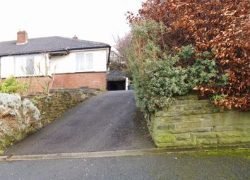Thumbnail 2 bed semi-detached bungalow to rent in Derwent Road, Bradford