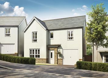 "Thumbnail 4 bed detached house for sale in ""Ripon"" at Kimlers Way, St. Martin, Looe"