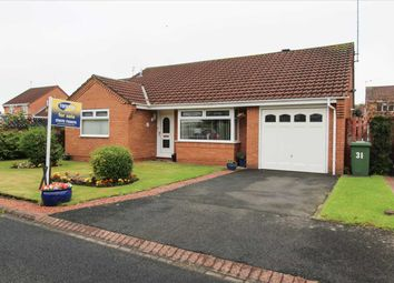 Thumbnail 3 bed bungalow for sale in Dunsdale Drive, Eastfield Vale, Cramlington