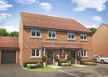 "Thumbnail 3 bed semi-detached house for sale in ""Barwick"" at Summerleaze Crescent, Taunton"