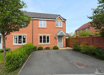 Thumbnail Semi-detached house for sale in Manor House Court, Chesterfield, Derbyshire