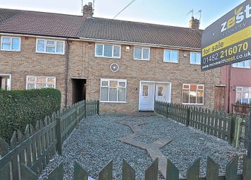 Thumbnail 3 bedroom terraced house for sale in Stockwell Grove, Hull, East Riding Of Yorkshire