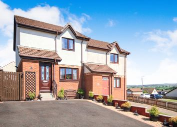 Thumbnail 2 bed semi-detached house for sale in Hodge Crescent, Drongan, Ayr