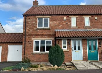 Thumbnail 3 bed semi-detached house to rent in Vicarage Farm Close, Malton