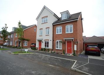 Thumbnail 3 bed semi-detached house for sale in Clover Rise, Woodley, Reading