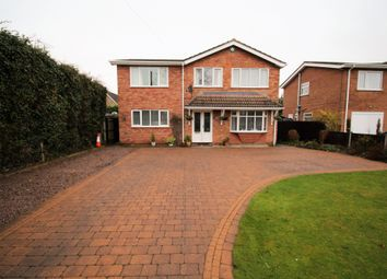 Thumbnail 4 bed detached house for sale in Bell Lane, Moulton, Spalding
