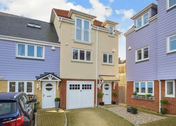 Thumbnail 3 bed end terrace house for sale in Beach Walk, Broadstairs, Kent