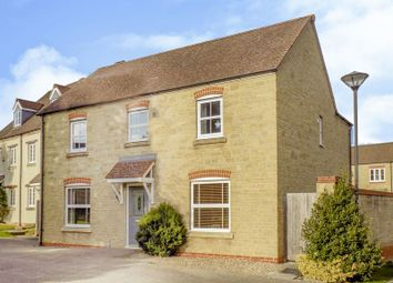 Thumbnail 4 bed detached house for sale in Winterbourne Road, Swindon