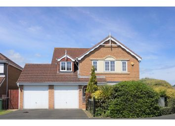 Thumbnail 4 bed detached house for sale in Longhirst Drive, Cramlington