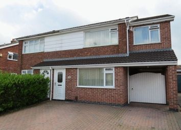Thumbnail 4 bedroom semi-detached house for sale in Redbrook Crescent, Melton Mowbray